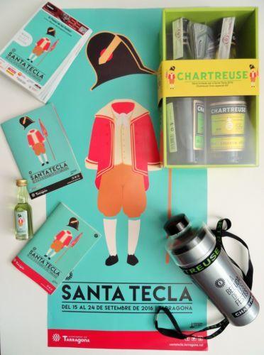 Le kit complet #Chartreuse Santa Tecla 2016 à #Tarragona