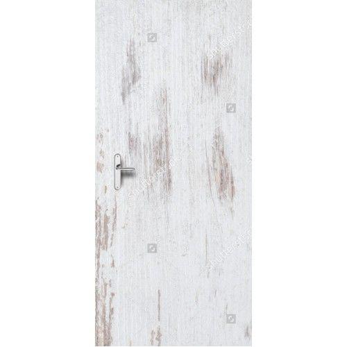 Deursticker Wit hout