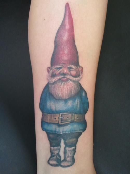 17 best images about gnomes on pinterest attila for Garden gnome tattoo designs