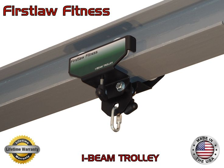 The Green I Beam Trolley Mount If You Have Access To A