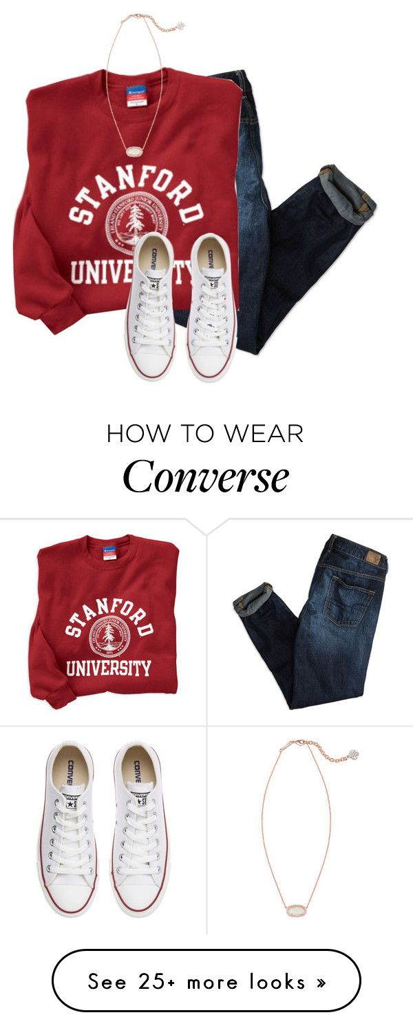 """""""Party w/ Nerf Gun war"""" by preppy-101 on Polyvore featuring American Eagle Outfitters, Converse, Kendra Scott, women's clothing, women, female, woman, misses and juniors"""