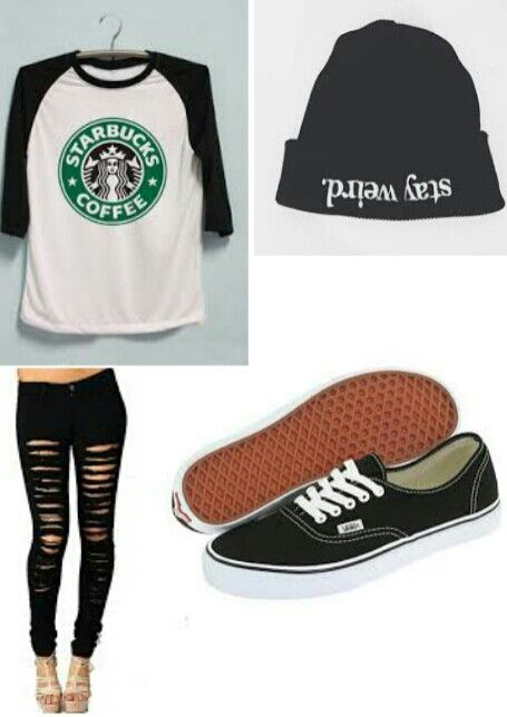 Starbucks outfit #outfit #starbucks