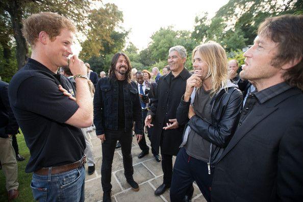Foo Fighters + Prince Harry