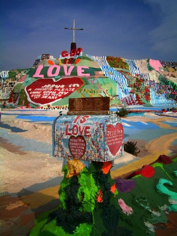 Salvation Mountain in Slab City, CA. PLEASE, SOMEONE GO WITH ME.