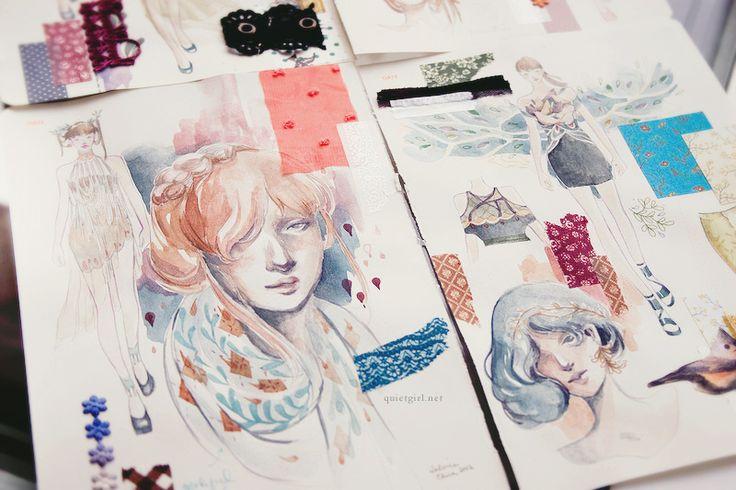 Fashionary by Valerie Chua. Amazing! - Fashionary is in Nederland te koop op http://www.opschrijfboekjes.nl/merk/7/fashionary