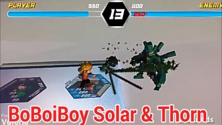 BoBoiBoy Kuasa 7 - WOW keren! Cara Main BoBoiBoy AR Terbaru - Pertarunga...