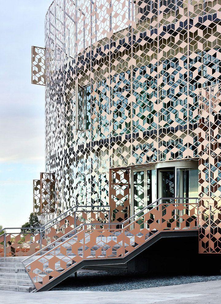 Corporate Office Building for Hispasat by Herreros Arquitectos.
