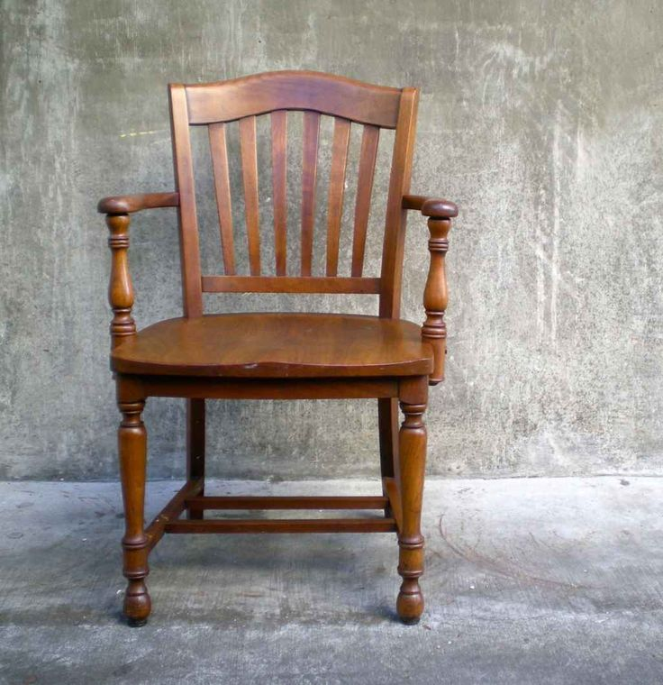 Marvelous Remarkable Darkgray Cool Wooden Chairs Office Furniture Wood Antique Chair  Vintage