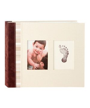 Pearhead Ivory Baby Keepsake Book by Pearhead #zulily #zulilyfinds