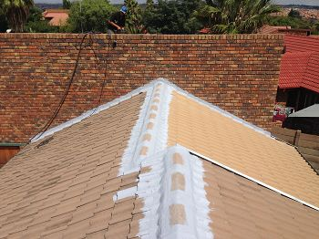 Tremco Waterproofing contractor. Waterproofing on tile roof. Waretproofing in Pretoria East.