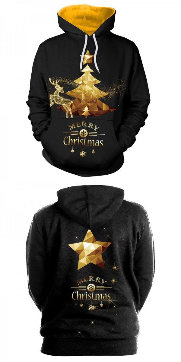 black christmas tress print sweaters, merry christmas party hoodies, awesome womens christmas sweaters