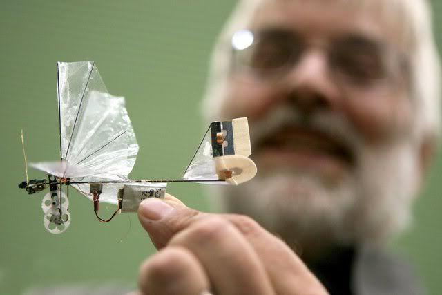 Robot Ornithoper from TU Delft