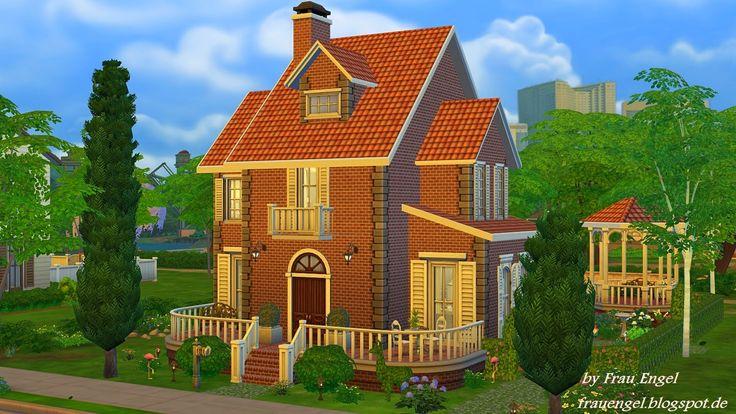 Frau Engel: Flower cottage