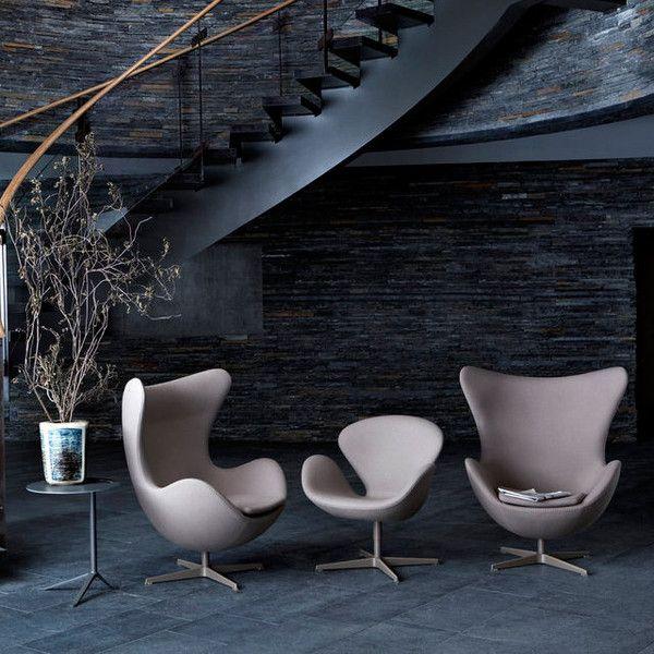 Arne Jacobsen Swan Chair & Petit Chair http://cimmermann.co.uk/blog/arne-jacobsen-danish-design-icons/