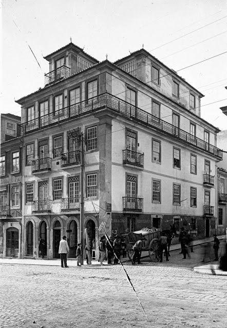 Lisboa de Antigamente: Rua de São Bento