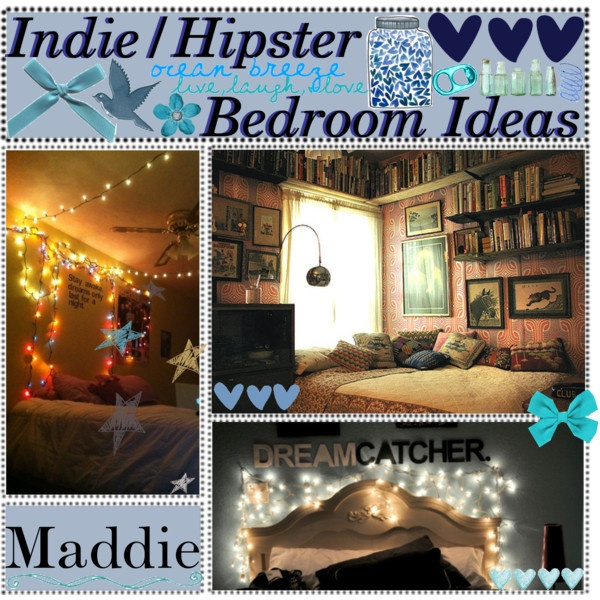 Indie/Hipster Bedroom Ideas (Requested), created by for-the-love-of-tips on Polyvore