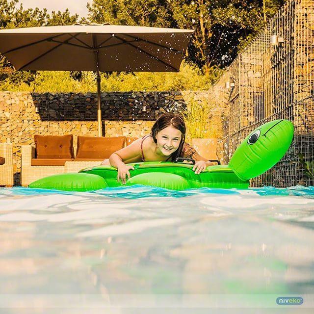 Fun and smile in NIVEKO pool... :-) #lifestyle #design #health #summer #relaxation #architecture #pooldesign #gardendesign #pool #swimmingpool #pools #swimmingpools #niveko #nivekopools