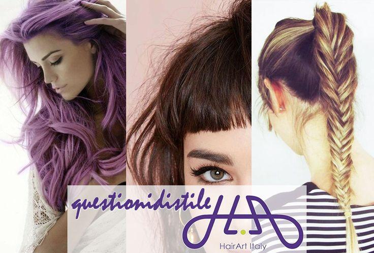 Oggi con le #questionidistile vogliamo scoprire di più su di te e sui tuoi gusti. Per questo ti chiediamo: quale acconciatura sceglierai per questo Autunno / Inverno 2014-15? - un nuovo COLORE per il mio look - farò la FRANGIA:nonnettama imprecisa, dal carattererock - terrò i capelli raccolti in una CODA di cavallo o in una morbida TRECCIA Raccontaci il tuo stile! #hair #questionidistile #hairartitaly