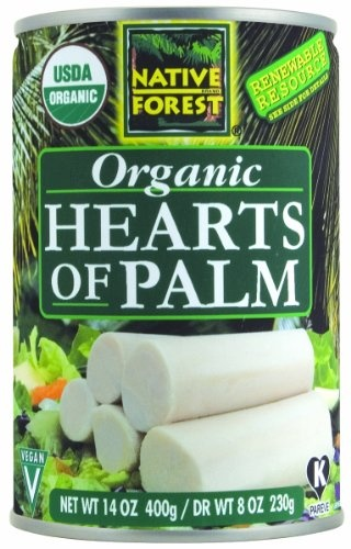 Native Forest Organic Hearts of Palm, 14-Ounce Cans (Pack of 12) $35.91: 12 35 91, Heart Of Palms, Organizations Heart, Native Forests, Vegetables Review, 14 Ounc, Hearts Of Palms, Forests Organizations, Packs
