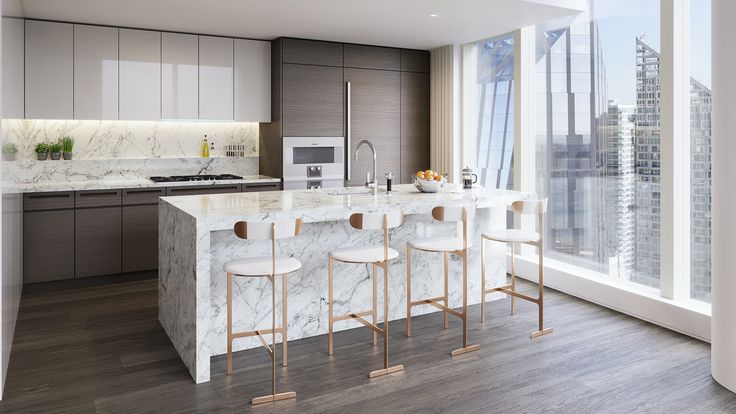 Two Waterline Square in NYC has beautiful design layouts with a break taking view of the Hudson River and more. Learn about the architecture today.