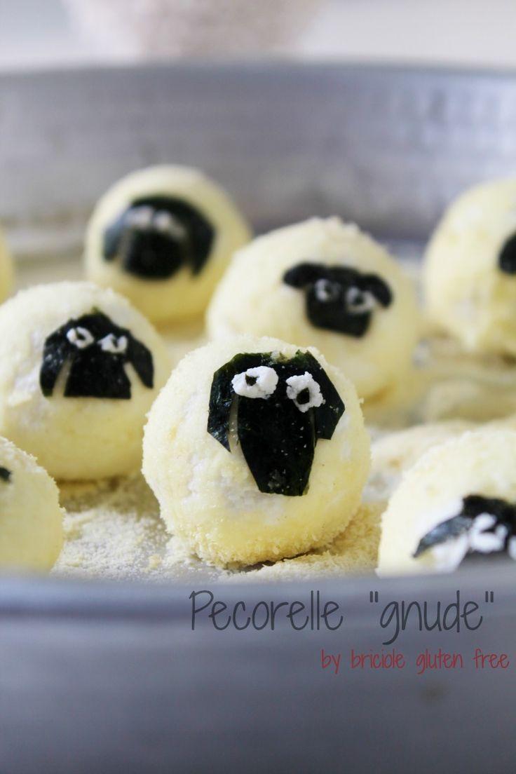 """Vi presento le mie Pecorelle """"Gnude"""" un idea carina per preparare dei gnocchi toscani strabuoni e #glutenfree... La ricetta la trovate sul mio blog: → http://goo.gl/UoACh4 e in #edicola su #FREE - questo mese vi presento una #fattoria molto moolto simpatica e tutta #senzaglutine- ciaoooo #editore #rivista #glutenfree #bambini #singluten #foodart #food #foodblogger #verdure #kids #art #foodie #foodcam #foodies #foodporn #foodblogger…"""