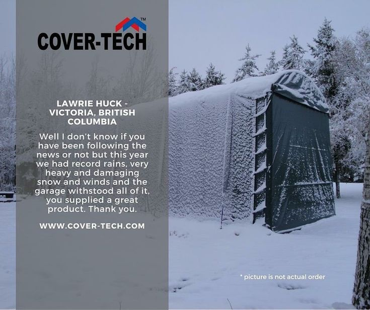 Lawrie Huck from Victoria, BC said.... We thank you for your kind words! Read more testimonials here: http://www.cover-tech.com/testimonials #picoftheday #portablegarage #shelter #product #highquality #testimonial #madeincanada #rvgarage #boatgarage #cargarage #testimonials #tbt