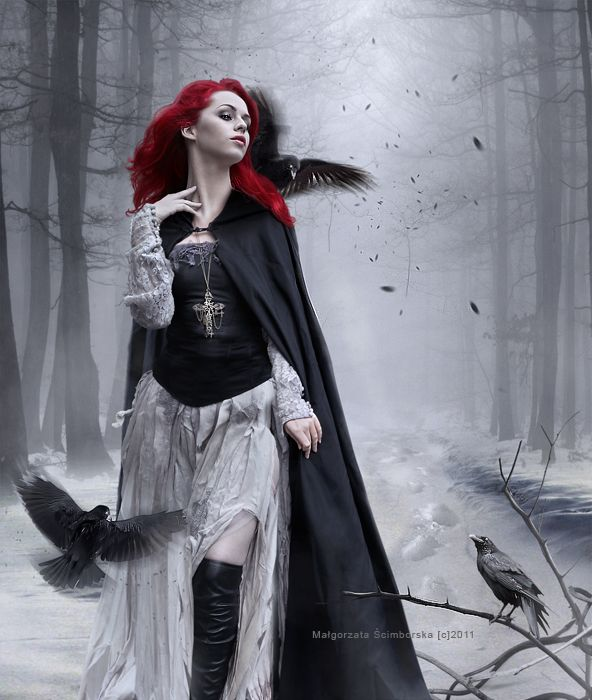 Image result for Beautiful Fantasy Gothic Woman