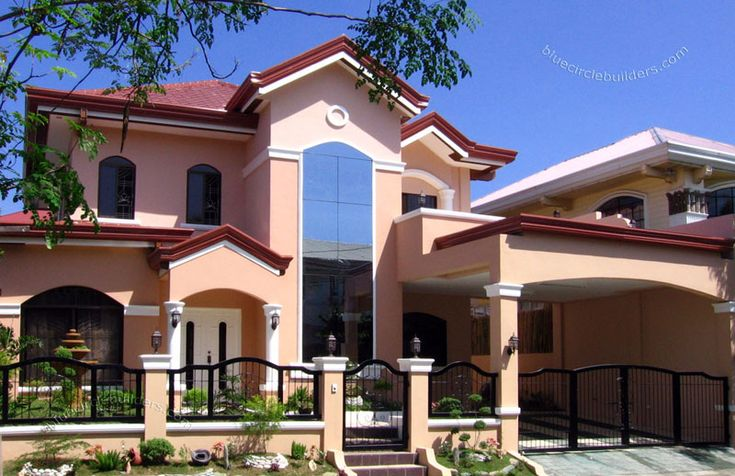 nice construction design, plus the color.  Expert Construction Contractor Custom House Design Philippines
