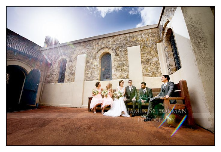 Fairytale Busselton wedding, St. Mary's Anglican Church, Busselton. James Schokman Photography