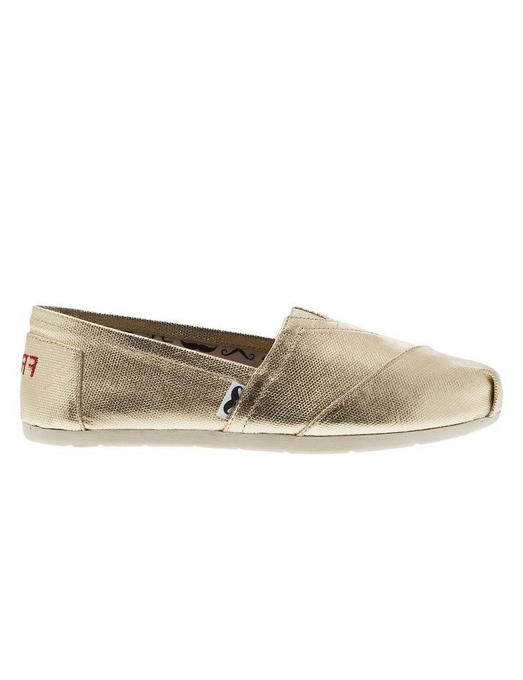 Spring Summer 2015 New Collection - Jellyfish Gold #keepfred #fred #shoes #outfit #style #fashion #new #collection #spring #colors #women #casual #canvas #look #gold #summer