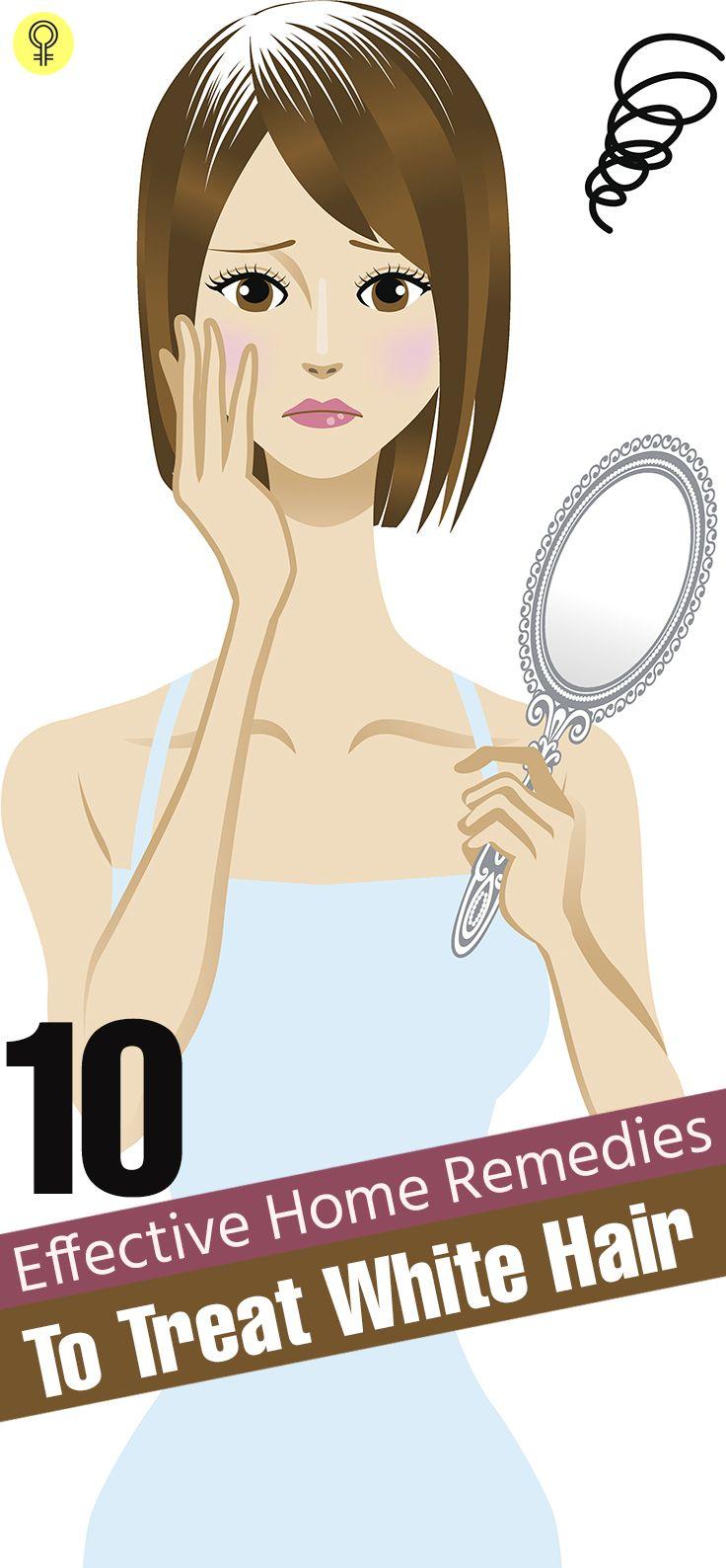 Reduce White Hair Naturally