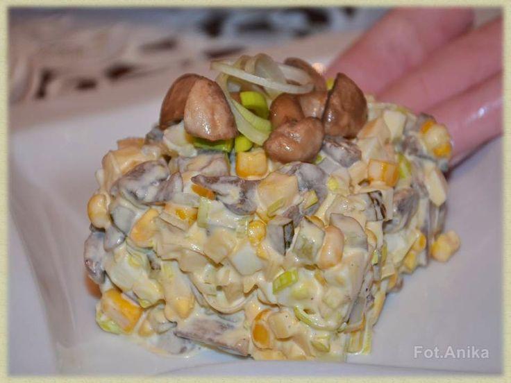 Domowa kuchnia Aniki: Sałatki i surówki