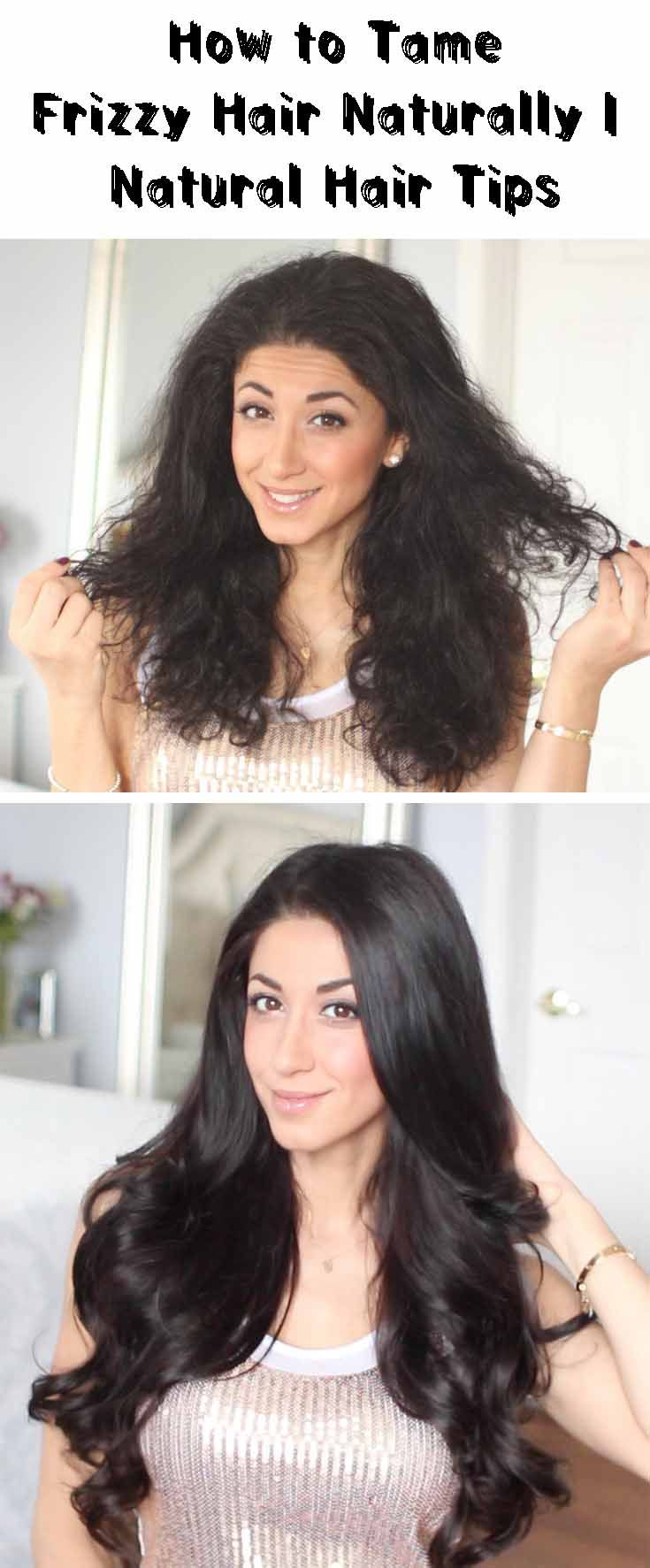 Relax Frizzy Hair Naturally