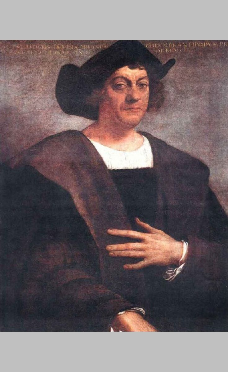 Share Christopher Columbus' BIOGRAPHY with your residents