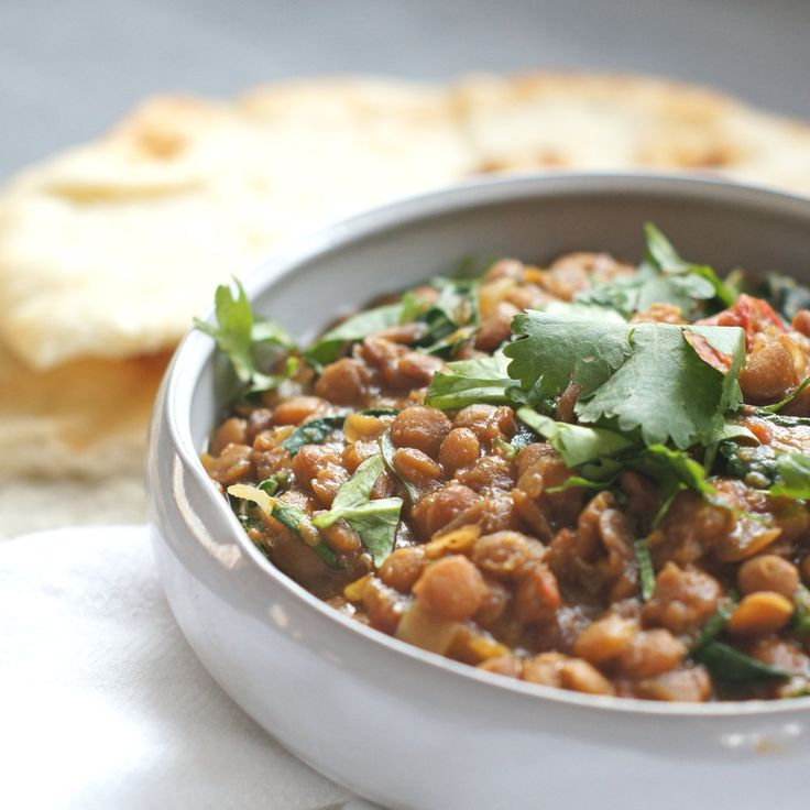 Simply served with naan, this vegetarian dish is supremely satisfying.