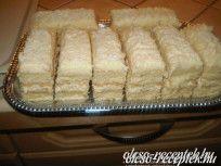 Citromos szelet recept Vass Laszlone konyhájából - Receptneked.hu