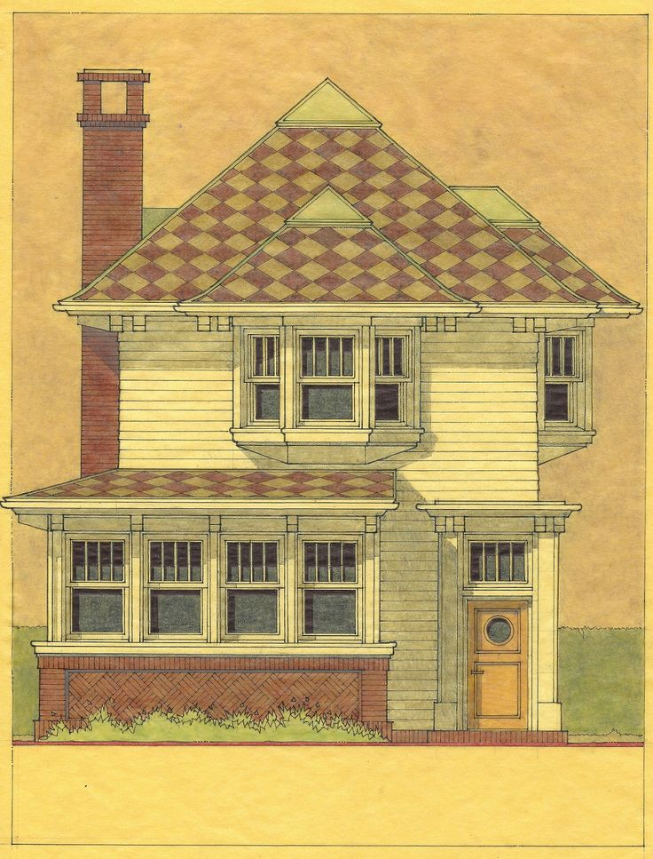 8 best drawings for urban housing images on pinterest original narrow lot small residence in denver co design development study drawing of front elevation malvernweather Gallery