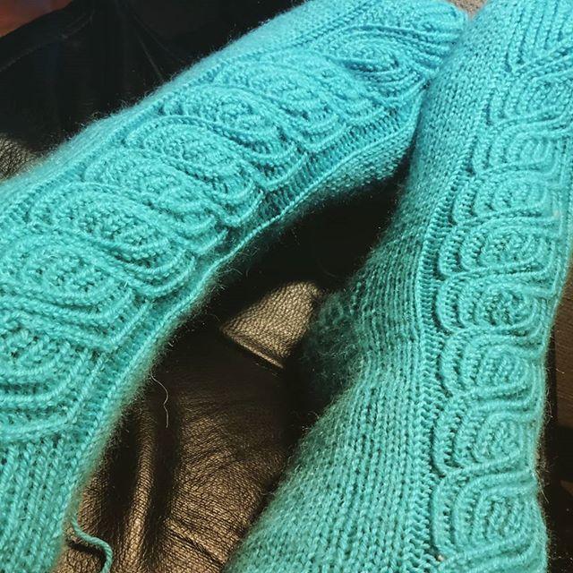 "My first ""Soulmates"" socks  Love the pattern  #socks #woolsocks #woollen #knitting"