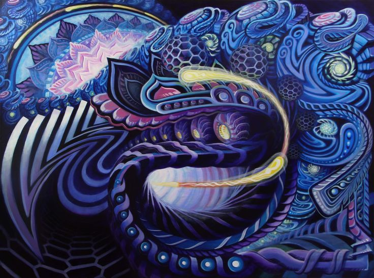 Trippy Acrylic Paintings