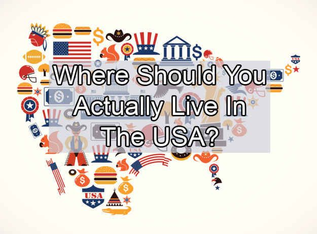 Where Should You Actually Live In The USA. I got Southeast