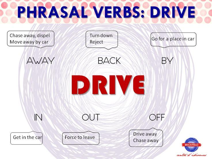 driving phrasal verbs - Поиск в Google