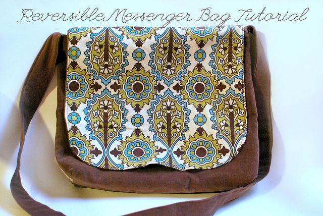 Reversible Messenger Bag Tutorial