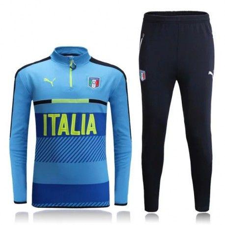 Survetement Italie 2016 Bleu