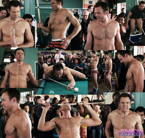 Joel McHale - just started watching Community and I cannot wait for this episode