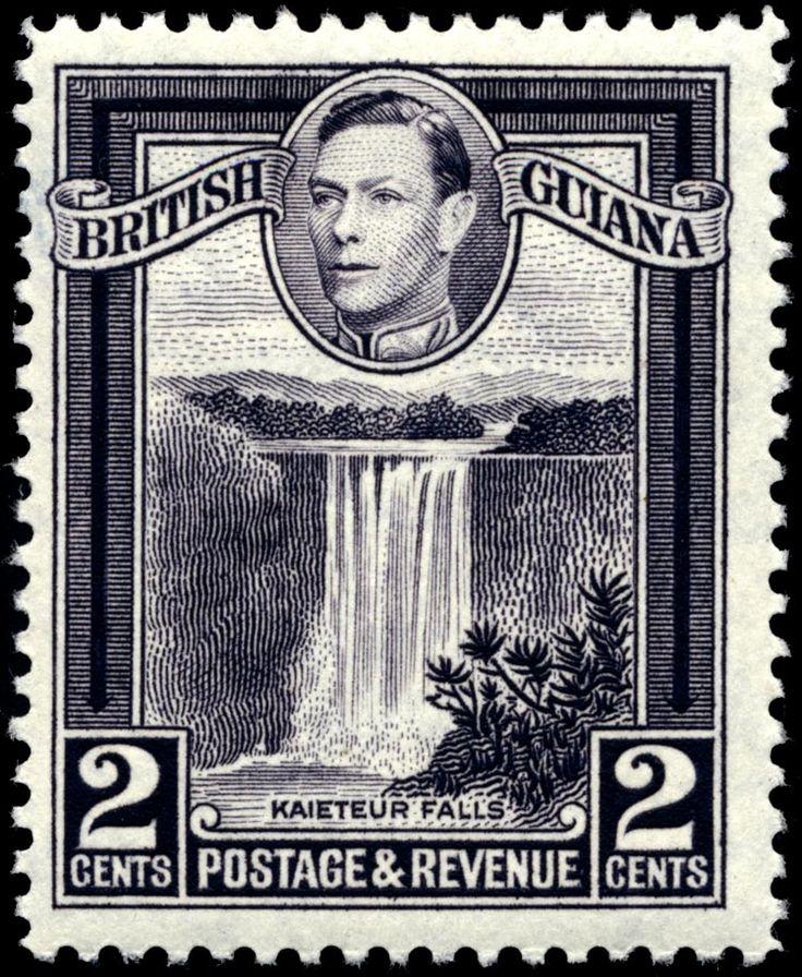 Stamp British Guiana 1938 2c