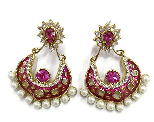 Dazzling Indian Bollywood Gold Plated White Stone White P... https://www.amazon.ca/dp/B06XWPSKR9/ref=cm_sw_r_pi_dp_x_9Uk3ybBG4GTSS