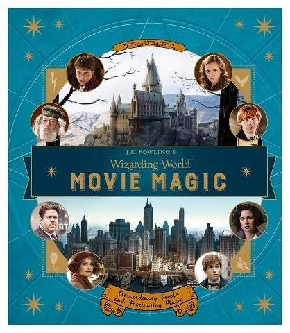 J.K. Rowling's Wizarding World: Movie Magic Volume One: Extraordinary People and Fascinating Places (Harry Potter) #harrypotterwizardingworldmoviemagic #harrypotter #wizard #wizardingworld #moviemagic #harrypotterbook #affiliate #jkrowling #witches #harrypotteraorld #artclass #harrypotterunitstudy #unitstudy #homeschool #unschool #relaxedhomeschool #homeschooling #unschooling #iloveharrypotter #harrypotterfan #harrypotterfans
