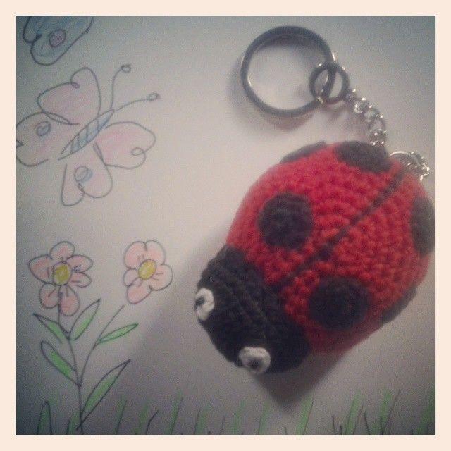 Ladybug keychain <3