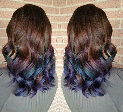 lovely.asia @lovelydotasia Oil slick hair is...Instagram photo   Websta (Webstagram)