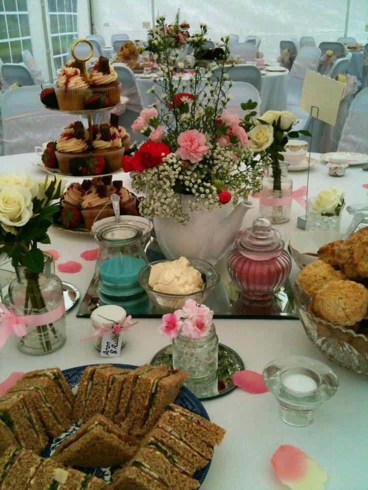 Derbyshire Afternoon Tea Wedding Www Fortheloveofvintage Co Uk